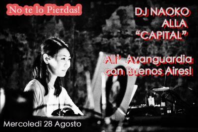 DJ NAOKO TANGO EXPERIENCE ! MERCOLEDì 28 AGOSTO DALLE 21.30 ALL'1.30 ! A BOLOGNA !!